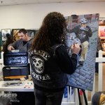 Chris Callen brings canvas to life at the David Mann Art & Culture Show