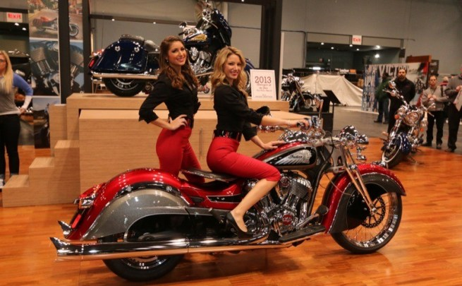The Big Chief Custom is unveiled at the NYC show in its first public appearance