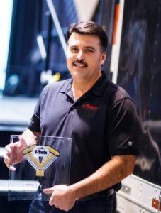 Steve Menneto, vice president Polaris Motorcycles