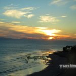 The beautiful Ventura coastline and sunset