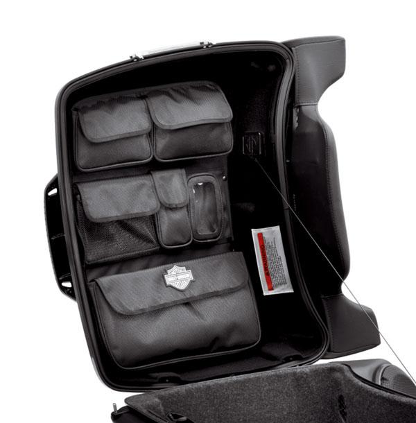 Harley-Davidson Premium Tour-Pak Lid-fitted Lining with Organizer