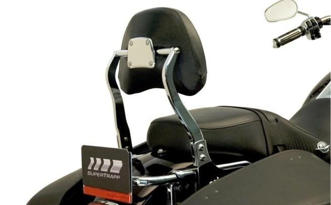 Jardine Quick-Detach Backrests for V-Twins