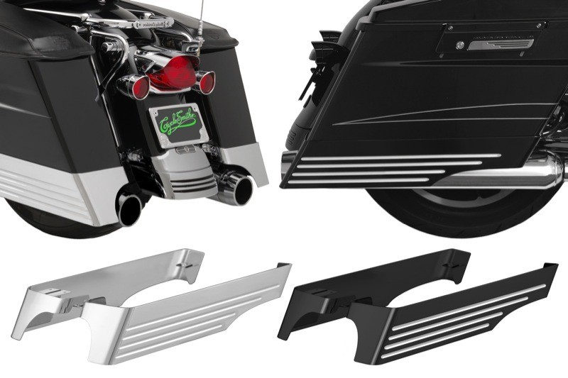 Cyclesmiths XL Billet Bag Extensions