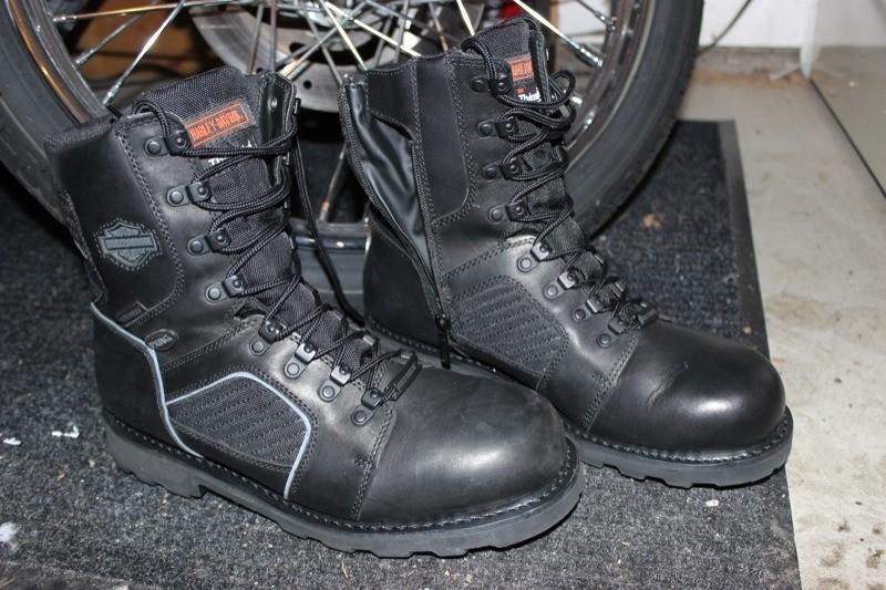 Harley-Davidson FXRG-5 boots
