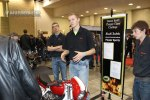 Students from Mitchell Technical Institute discuss their DSCCC build with attendees