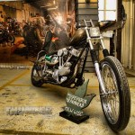 """The Dopesmoker,"" '48 Panhead from Milwaukee, WI"