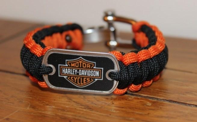 Harley-Davidson-branded Survival Straps bracelet