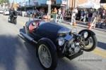 A V-twin-powered Mog rumbles down Main Street