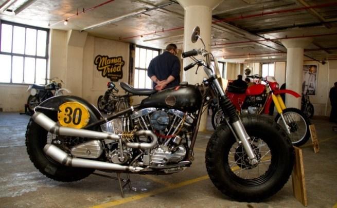 Ben Boyle of Benderworks from Atlanta GA brought this Harley Davidson FL