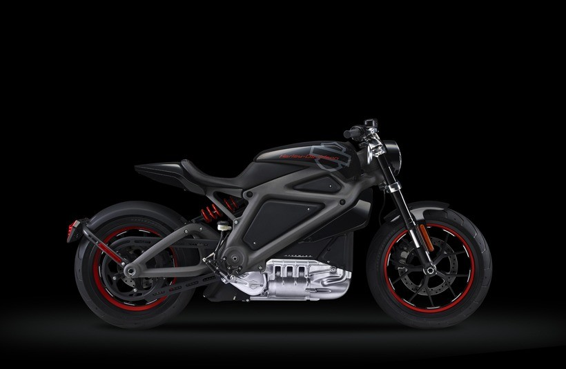 All-new Harley-Davidson LiveWire electric motorcycle