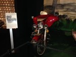 Elvis' custom-made 1200cc '76 Harley-Davidson Electra Glide