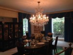 Dining room at Graceland mansion