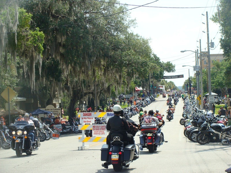 Riding south on Main Street Saturday morning about 10 am and the street was already wall to wall!