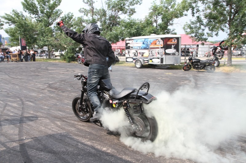 Ill Conduct Stunt Show sponsored by Harley-Davidson-4