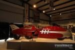 The Spirit of Munro streamliner at Michael Lichter's Built for Speed exhibit