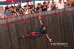 Charlie Ransom riding the Wall of Death