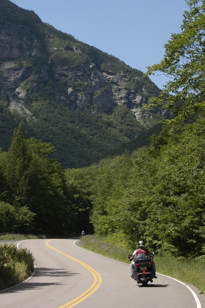 Smugglers Notch in Stowe