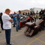Paul Yaffe judges at the Baddest Bagger competition