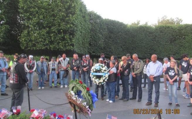 Rolling Thunder Wreath Ceremony