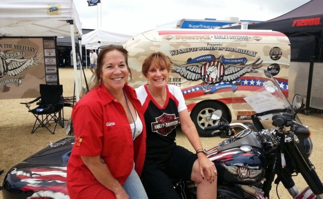 Gina Woods & Jill Parham of J&P withthe HER Project