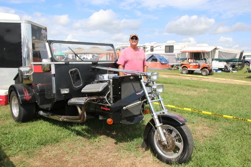 Mark File with his 2009 Renegade trike