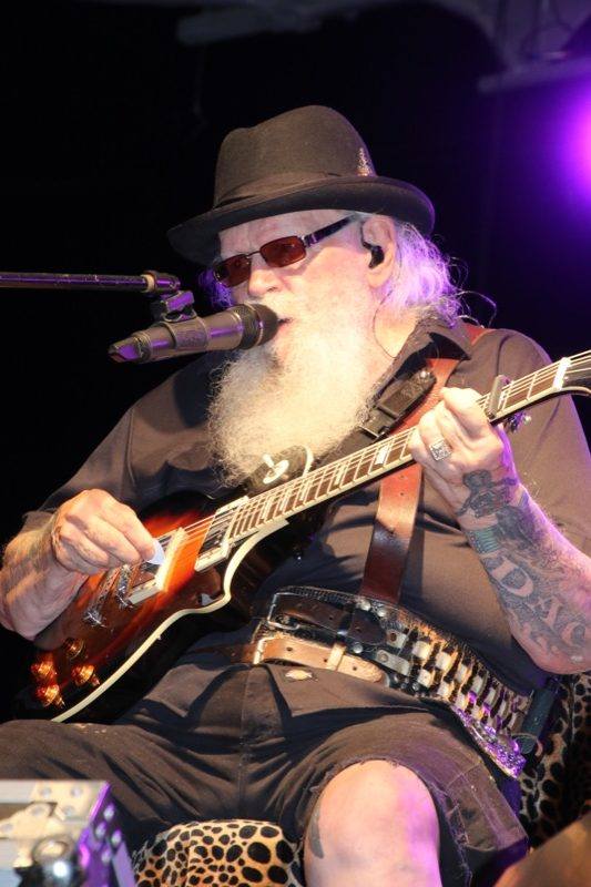 David Allen Coe, headliner for Sunday night's stage entertainment