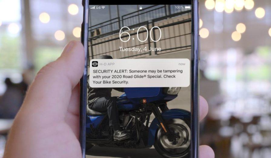 H-D Connect Harley Davidson Thunder Press
