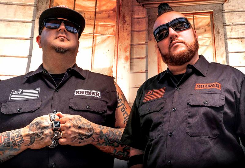 Moonshine bandits, steel panther, vegas bike week, thunder press