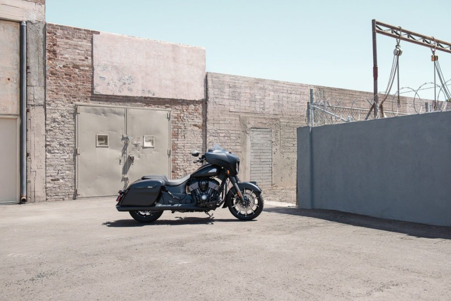 2020 Indian Chieftain Thunder Stroke 116. MSRP  $27.999.