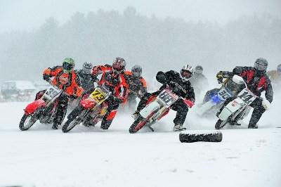 ama, high voltage, ice racing