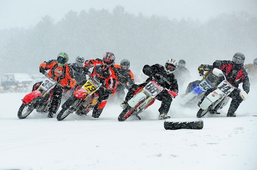ama, high voltage, ice racing