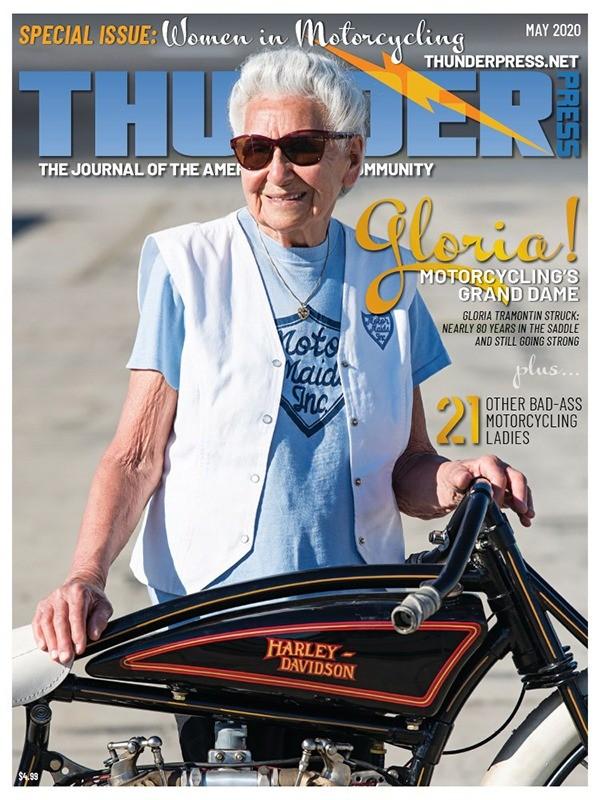 Thunder Press May 2020: Cover