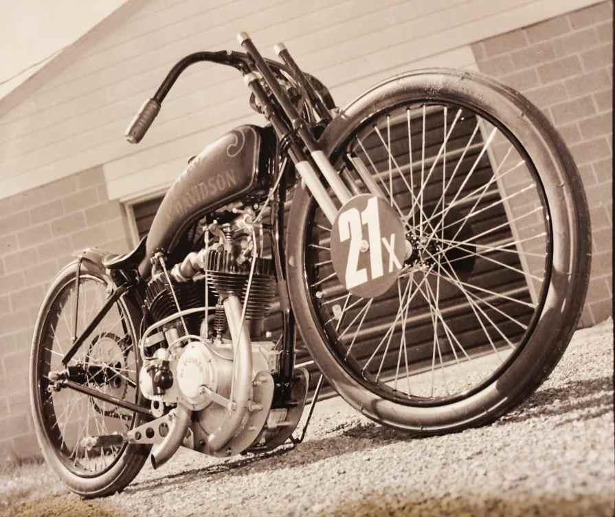 the Harley-Davidson Styling & Design Award went to Waukesha, Wisconsin's Michael Lange for his impressive custom board-tracker