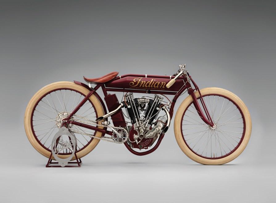 Magnificent Indian 8-valve Racer