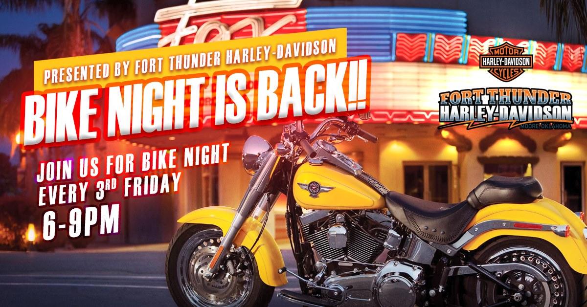 Fort Thunder Harley Davidson Bike Night