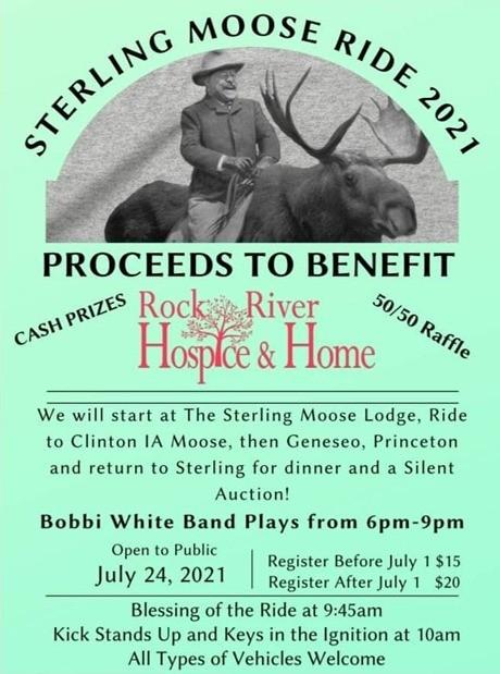 Sterling Moose Ride 2021