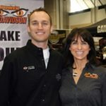 Donnie Rooks and Gail Worth of Gails' H-D