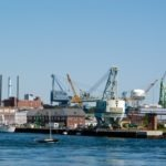 The Portsmouth Harbor, home to the Albacore Museum