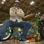 Kyle Moody at World of Wheels Car and Bike Show