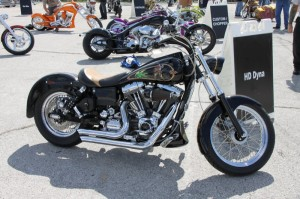 One sweet Dyna at Orlando H-D