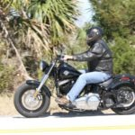 Party of one; the H-D Softail Slim is defiantly a party of one