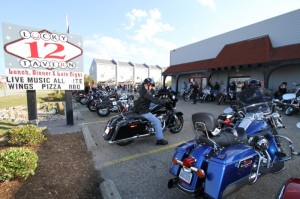 The always-popular Lucky 12 Tavern welcomed bikers day and night with live music, good food and great bartenders