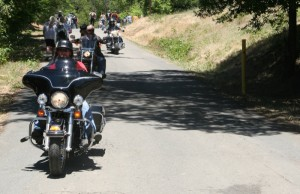 Riders commuted the hill into the pit all weekend to soak up sun, suds and the party action at the Riverview Ranch in Piercy