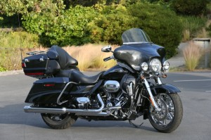 The CVO Ultra Classic decked out in 110th anniversary finery