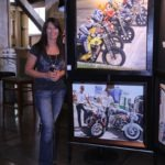 Talented artist Stefanie Aziere-Sattler displayed her magnificent paintings inside the Deadwood Mountain Grand