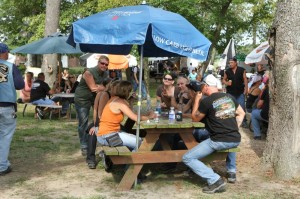 Enjoying a beautiful day in the Enchanted Forest at Harley-Davidson of Seaford