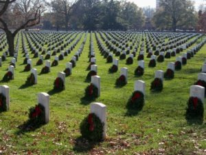 More than 113,000 wreaths were placed at Arlington National Cemetery this year
