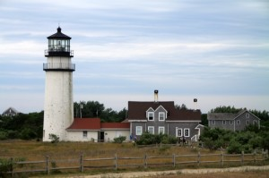 Highland Cape Cod Lighthouse - Route 6 Ride, Long Beach to Cape Cod