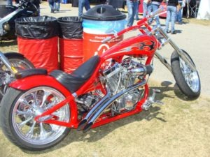 Despite the lack of a bike show, some cool customs still made their way out to DeLand