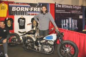 Grant Peterson of Freedom Machinery and Accessories, and co-founder of the Born Free Show